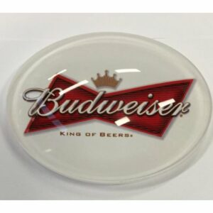 Ovale taplens Budweiser bol