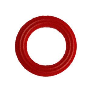 Ring nylon 18x12x3 mm rood